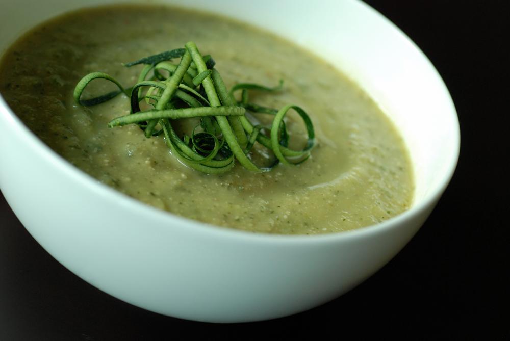 Recipe: Zucchini and Feta Soup